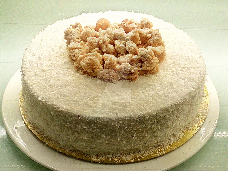 Banana Macadamia Cake Recipe