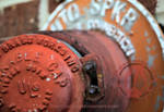SPKR Rusted red Cap by artjte