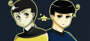 Star Trek: Data and Spock