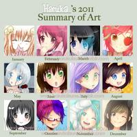 2011 Art Summary by harukatsune