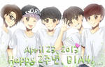Happy 2nd Anniversary B1A4