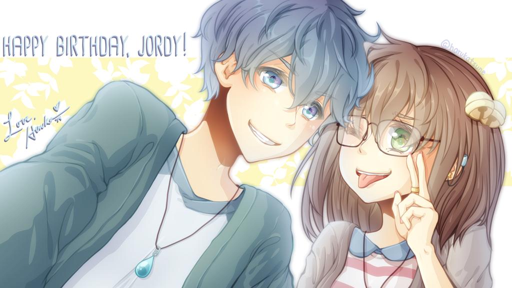 hairflips selfie by harukatsune