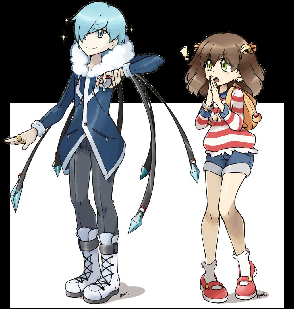 pokemon-style characters by harukatsune