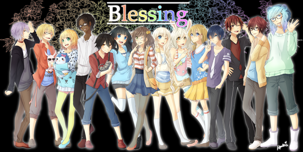 blessings group by harukatsune