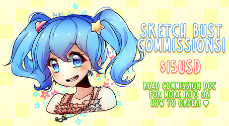 [OPEN] sketch commissions