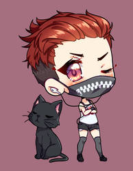 smol edgy kitty
