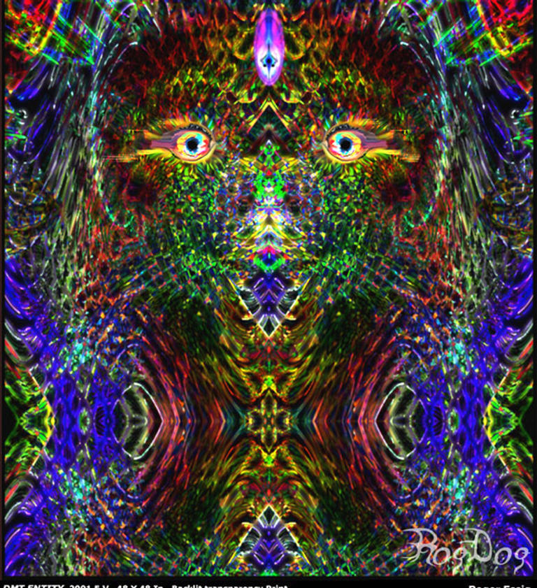 DMT Dimethyltryptamine Entity by rogdog