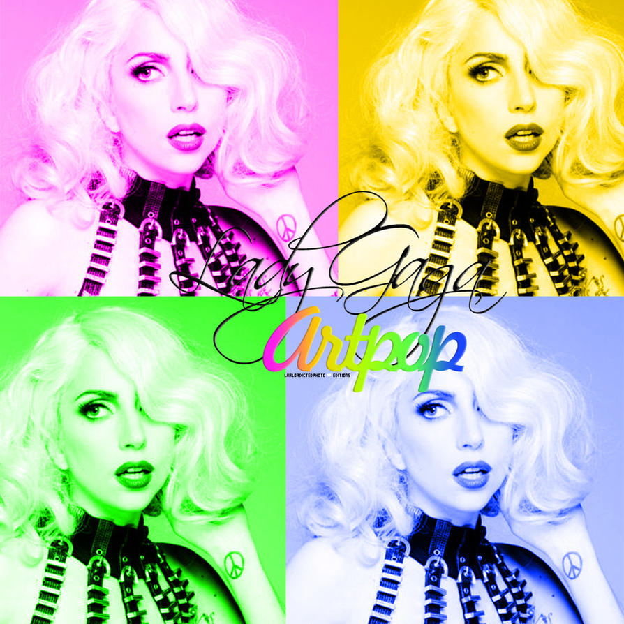 Lady Gaga Artpop CD Cover by Laaloadictedphoto on DeviantArt