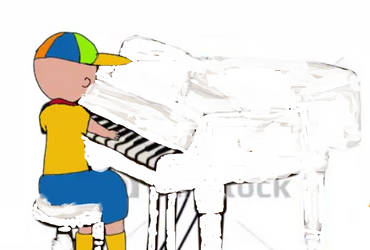 DANY Reboots Caillou (CR) playing piano