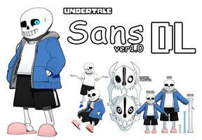 [MMD]Undertale Sans ver1.0  DL by Yukanuntiusel