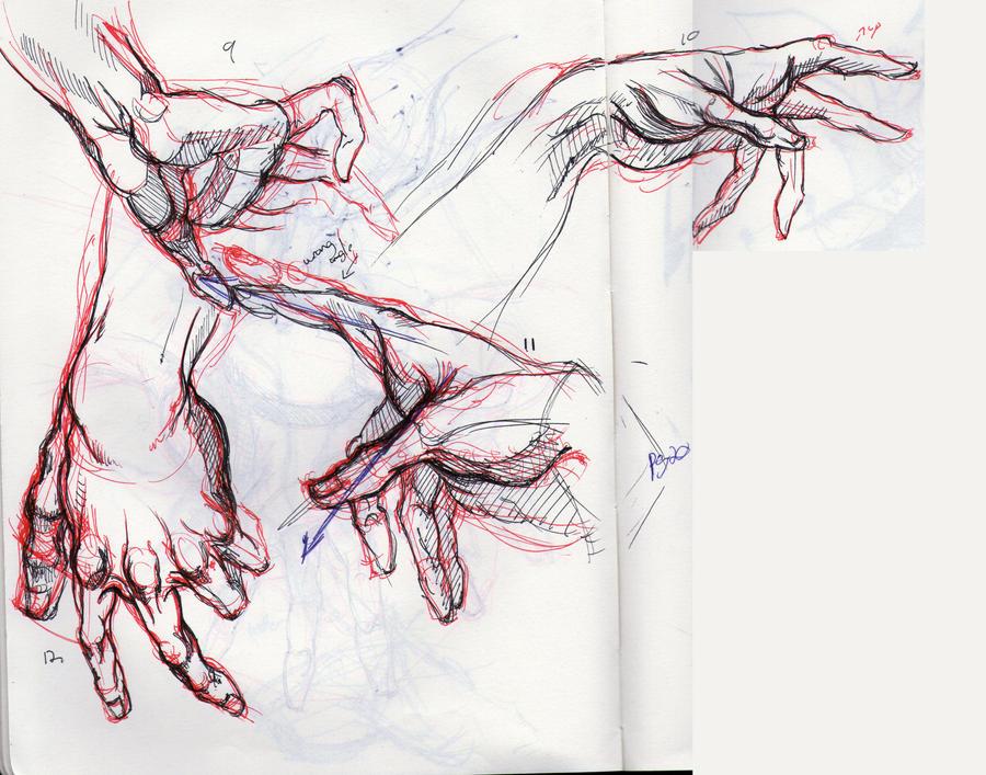 Hogarth Hands 2 by LancerMoo