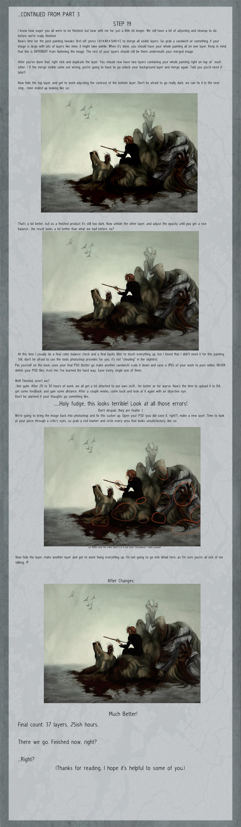 -Painting walkthrough, final- by LancerMoo