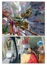 comics - page 1-flying taxis by avishagi
