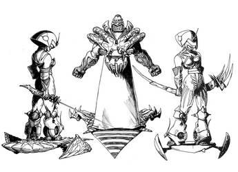 interforce characters by avishagi