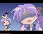 Lucky Star: Tsukasa and Kagami