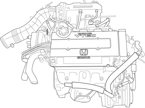 Honda Vtec Vector Illustration By Cdutton On Deviantart