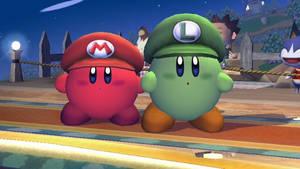 SSBB: Super Kirby Bros.