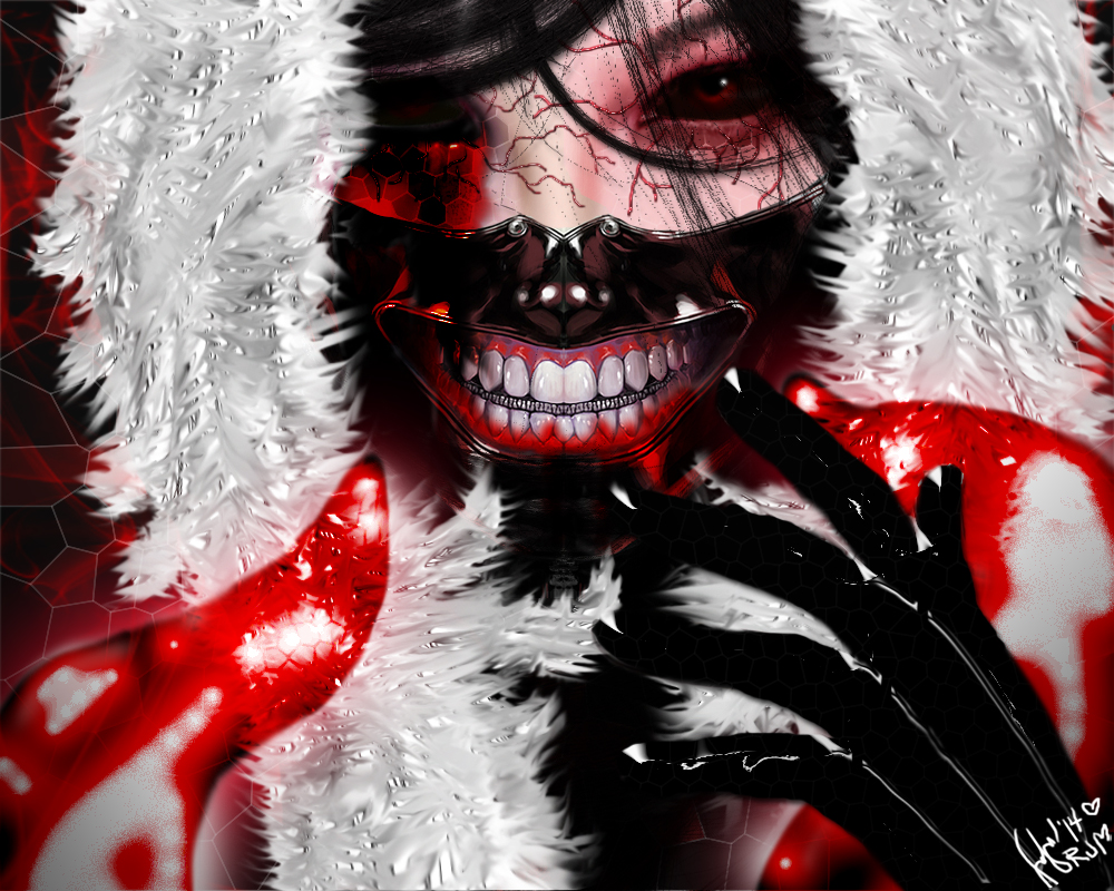Tokyo Ghoul Calendar Art : Tokyo ghoul fanart oc by ruthmartos on deviantart