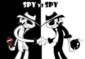 Spy vs Spy by Aggrotard