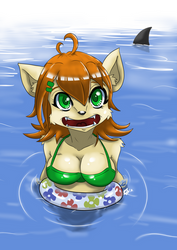 Nice day for a swim by Aggrotard