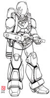 Robotech: Genesis Pits UEEF Explorer Corps