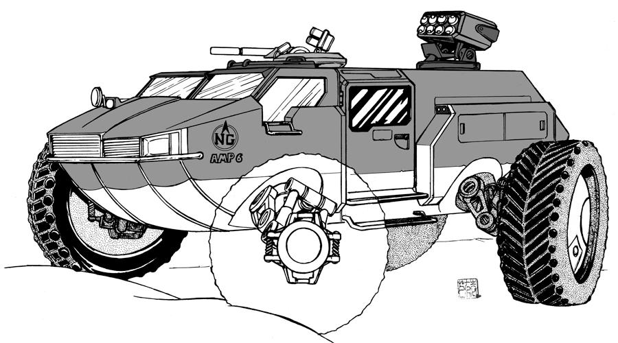Northern Gun AMP 6 Beachcomber by bar1scorpio