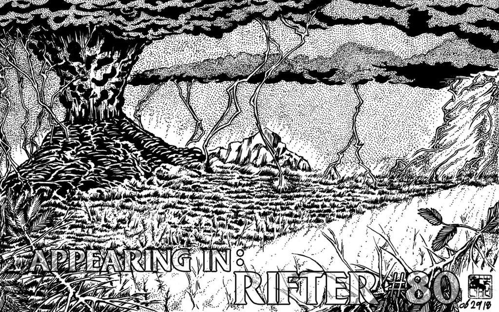 Volcano and Rift Storm by bar1scorpio