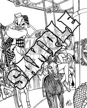 Creepy Clown Carnival 5: Carousel