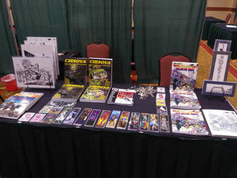 Table Display at Texas Haunter's Convention 2020