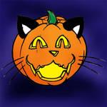 Jack-O-Lantern - Kitty