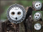 white owl ring - for sale