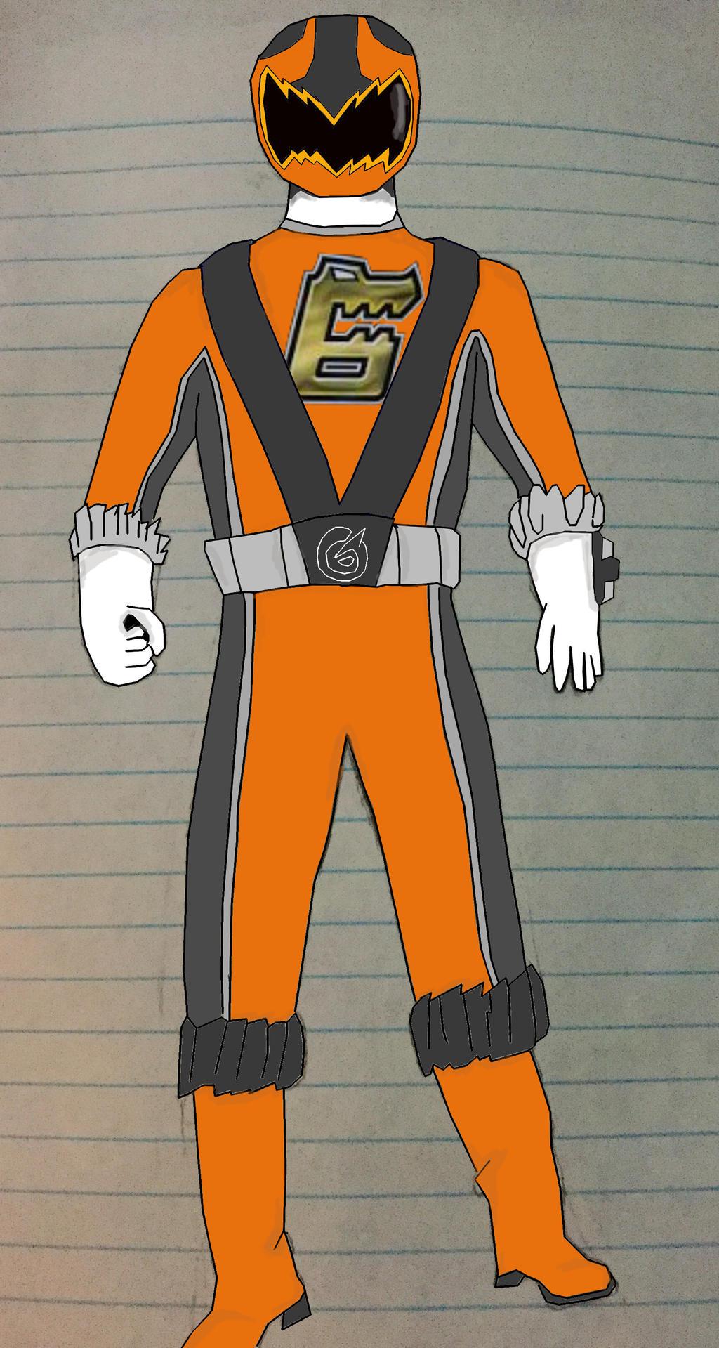 rpm nega ranger orange ranger idea by andruril93 by