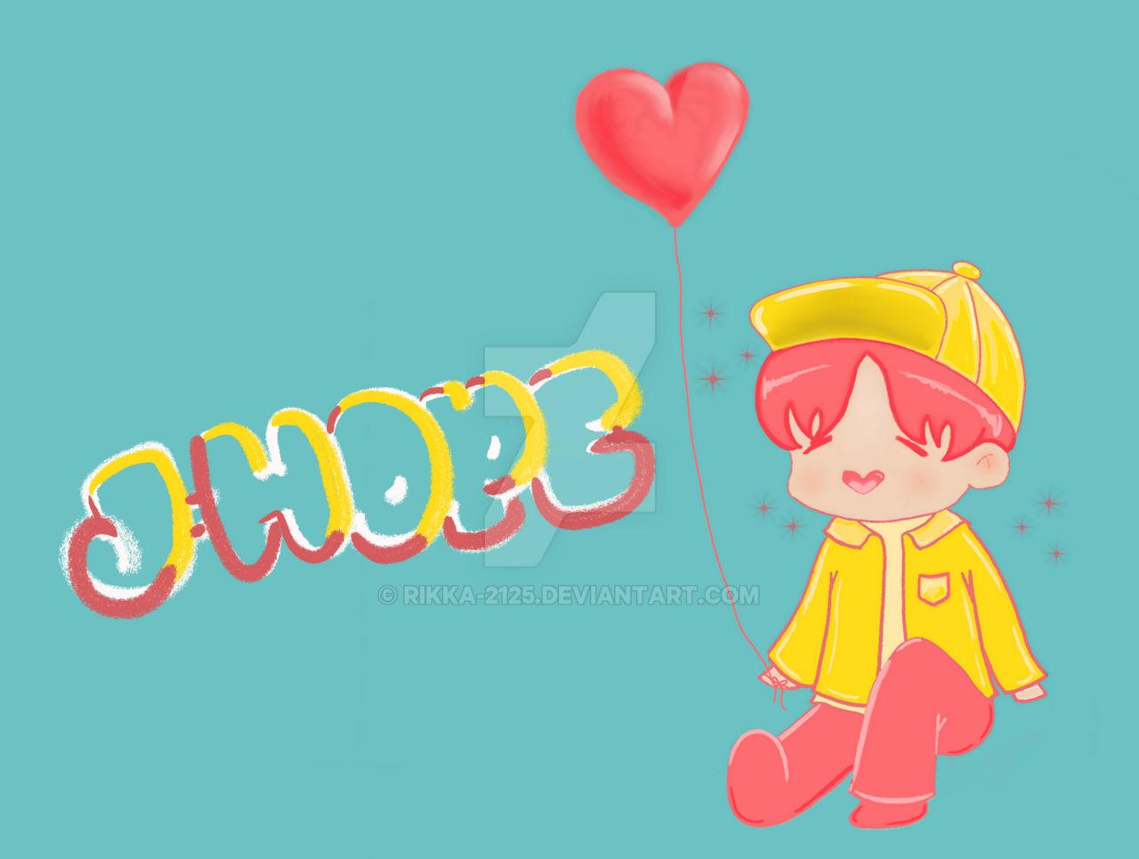 bts j hope chibi wallpaper for laptop pc by rikka 2125 ddbs3ak
