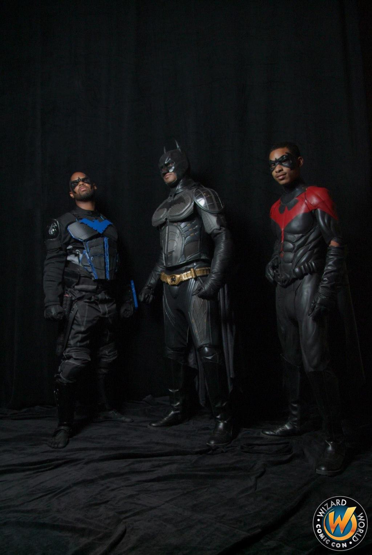 nightwing cosplay batman robin gotham remixed by