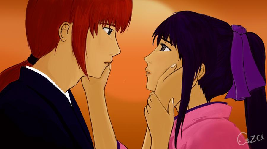 Samurai X - Kenshin and Kaoru by CzaGarcia