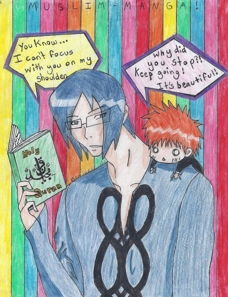 Muslim-Manga Bleach Contest by poochiechan