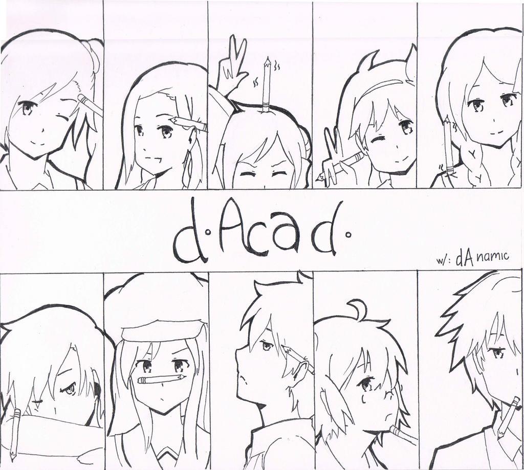D-Academy w/ DAnamic! by Mocchi-Kun