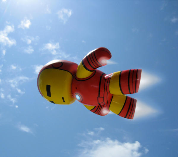 The Life Of Iron Man: Flying 2 by KawaiiUsagiChanSan