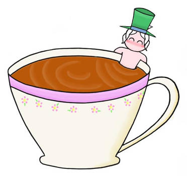 Join me in a cup of tea? by KawaiiUsagiChanSan
