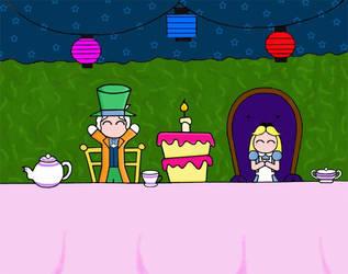 A Very Merry Unbirthday by KawaiiUsagiChanSan