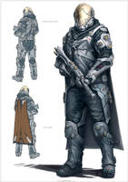 Sci-fi Soldier 2 by Sketchshido