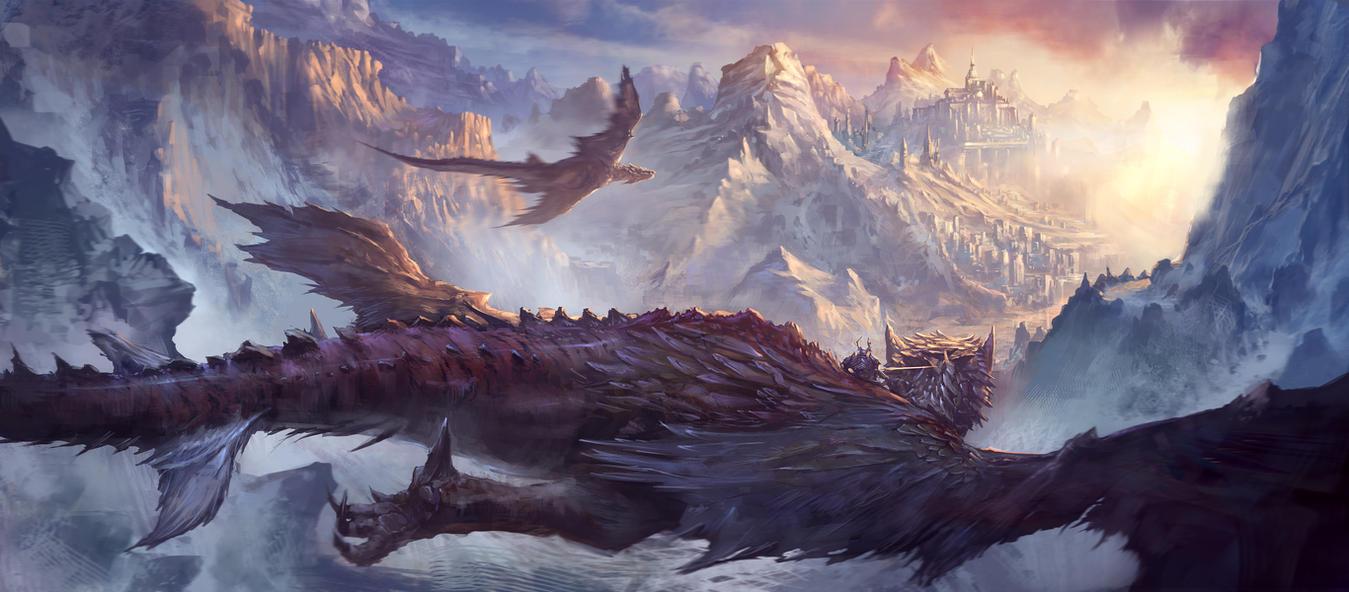 Dragonknight2 by Sketchshido