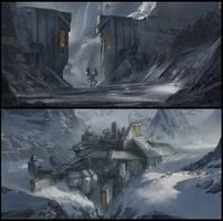 Mech Warrior Online CW map by Sketchshido