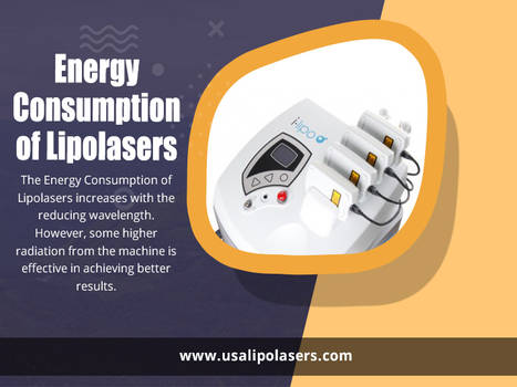 Energy Consumption of Lipolasers