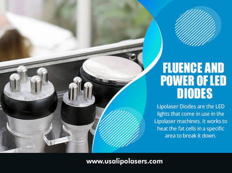 Fluence and Power of LED Diodes