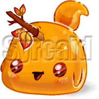 Fall Decorator Slime [ SOLD ] by syrcaid