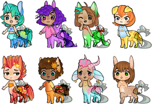 Itty Taurs 2019 Set 1 [ 5/8 OPEN ]