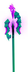 Mage's Staff by Magnetargirl