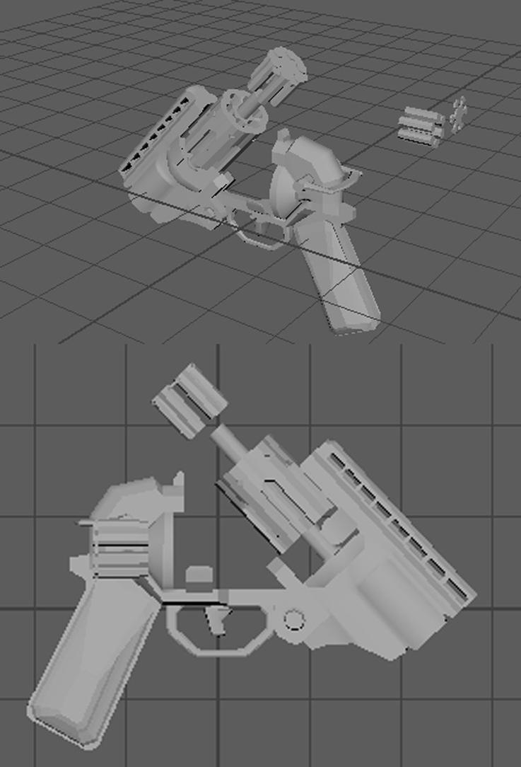 revolver WIP by Garanz