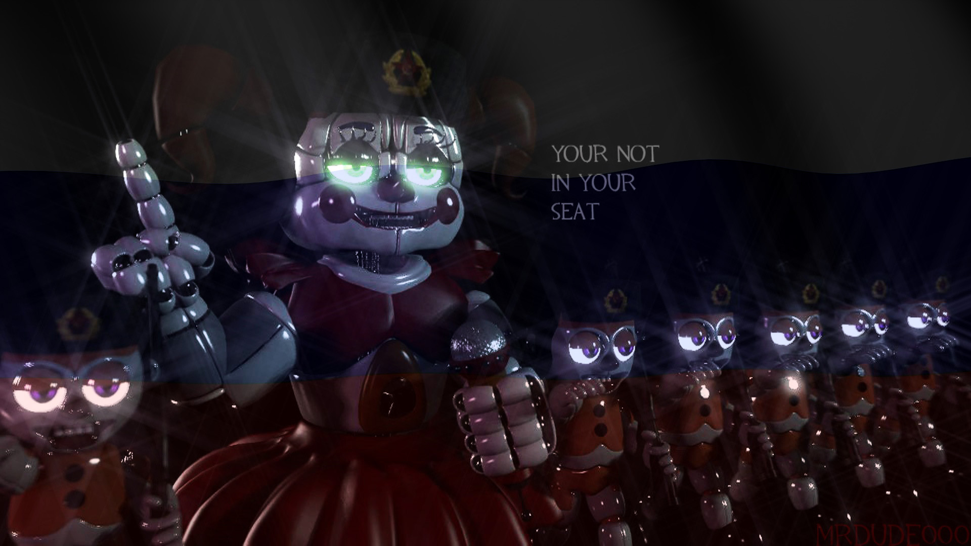 Fnaf sfm sl your not in your seat by mrdudeooo on deviantart for Russian foxy